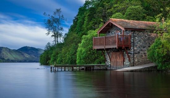 dum u jezera