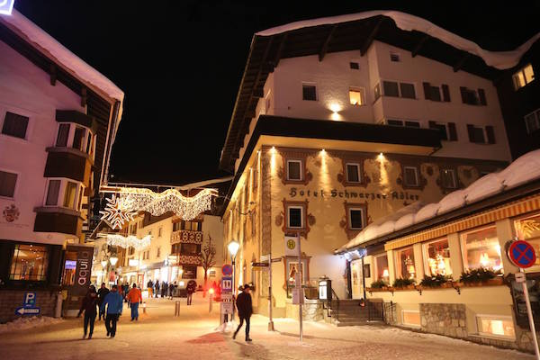 Snehove podminky v St. Antonu jsou perfektni